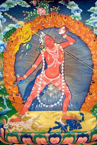 Painting of a dakini